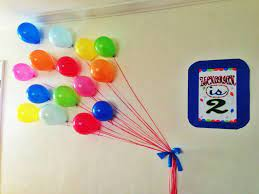 Simple balloon decoration for birthday party hiibangalore com. Balloon Wall Decor Party Favors Ideas Easy Party Decorations Balloon Wall Decorations Birthday Wall