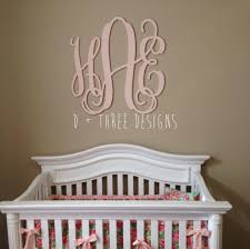 30 inch wooden monogram painted light pink wooden letters monogram wooden
