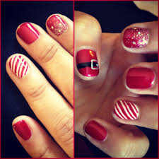 Christmas Nail Designs Shellac Christmas Nails Using Shellac By Natalie Shellac Nail