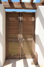 be creative using louvered doors for home decorating ideas stunning exterior louvered doors in natural