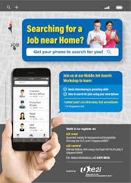Flyer Jobs E2i Mobile Job Flyer Employment And Employability