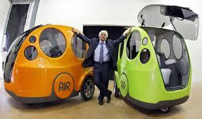Какими будут автомобили будущего  airpod так назвали этот экомобиль который способен быть полностью экологичным без единого выброса вредных отходов Ведь эта машина питается обычным