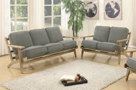 discount furniture warehouse. F6947_retro_sofa_loveseat_grey_wood_arms_contemporty_honolulu_hawaii_discount- Furniture-warehouse.jpg Discount Furniture Warehouse I