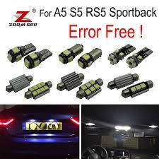 Error Free Interior Car Led Lights Bulb Kit Xenon White For