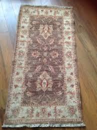 john lewis garous super 100 wool handmade oriental runner rug 123 x