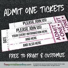 Online Ticket Maker Template Printable Train Ticket Template Elegant