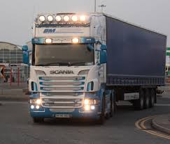 Scania Lights Scania Bm With Lights 2 Andrew Flickr