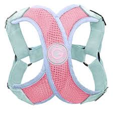 Gooby Choke Free Perfect Fit X Harness For Small Dogs Medium