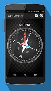 This app featured a simple to use interface, a dampened card that swings naturally. Compass For Android App Free By Vozvozer Google Play United States Searchman App Data Information