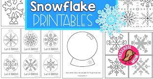 Snowflakes Printables Zerolab Info