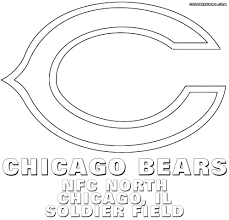 Nfl Logos Coloring Pages To Download And Print Chicago Bears At