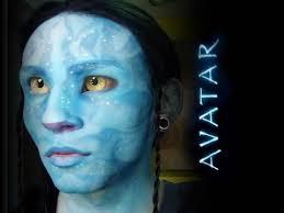 avatar inspired makeup tutorial