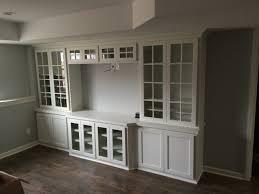 Living Room Built In Cabinets Kitchen Custom Built Cabinets For Modern Kitchen Remodel