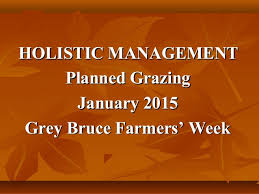 Holistic Management Planned Grazing