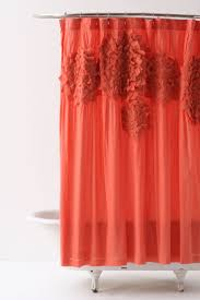 Anthropologie coral mums shower curtain...will be perfect with aqua painted  walls