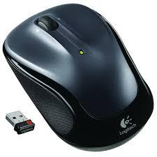 <b>Мышь Logitech M325</b> Wireless Mouse, Dark Silver (910-002142)