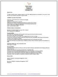 Insurance Agent Job Description For Resume Awesome Job Seekers Resumes The Best Insurance Sales Jobs RecentResumes Com