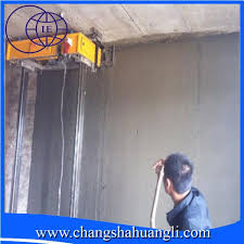 2016 automatic wall painting machine auto wall plastering machine fully auto images