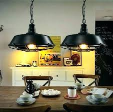 country retro loft pendant lights vintage industrial lighting floor lamp for style guard cage bulb guar