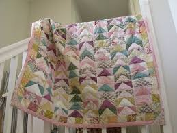 Patchwork Quilt Handmade Quilt Cover Baby Girl Patchwork Quilt ... & Patchwork quilt handmade quilt cover baby girl patchwork quilt shabby chic patchwork  quilt with triangles Adamdwight.com