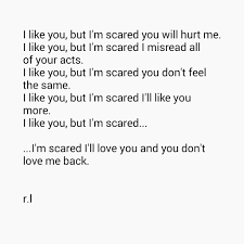 Scared To Fall In Love Quotes