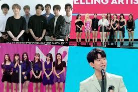 Genie Music Chart Winners Of 2019 M2 X Genie Music Awards Soompi