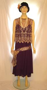 Purple color plus size The Great Gatsby dress costume, size 14 ...