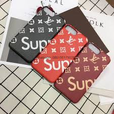 louis vuitton iphone 8 case. new fashion lv cases louis vuitton case cover for iphone 7/7plus/6s phone iphone 8