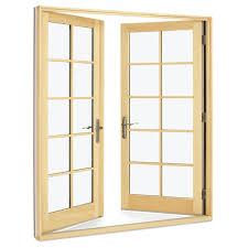 wood ultrex outswing door