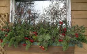 Christmas Window Box Decorations Blackeyed Susan It's the Most Wonderful Time of the Year Merry 10