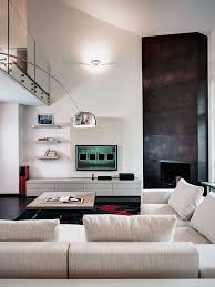 contemporary living room with corner fireplace. Architecture Modern Living Room Design Ideas With Corner Fireplace Contemporary