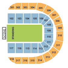 Royal Arena Seating Chart Sports Events 365 Israel Preliminary Round Qatar Vs
