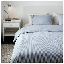 white linen duvet navy blue