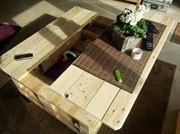 chairs cute diy pallet coffee table with storage coffe 3 13 diy pallet coffee table with