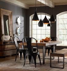 Industrial Dining Room Table Unique Ideas Industrial Dining Room Lighting Extraordinary Design