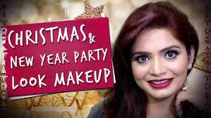 and new year party makeup tutorial by krushhh by konica