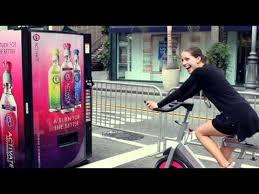 Human Vending Machine Unique Human Powered Vending Machine YouTube