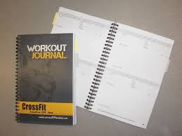Work Out Journal The Official Crossfit London Workout Journal Is Now