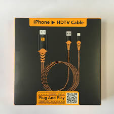 Cáp chuyển đổi kết nối Iphone, Ipad với Tivi qua cổng HDMI - Lightning to  HDTV - Hàng cao cấp