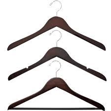 best wood hanger basic walnut wooden hangers