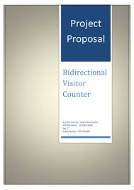 bidirectional or counter project proposal