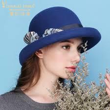<b>Charles Perra</b> Women Winter <b>Hat</b> Warm Wool <b>Cap</b> New Fashion ...