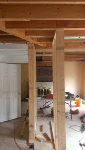 remove load bearing wall and install 22