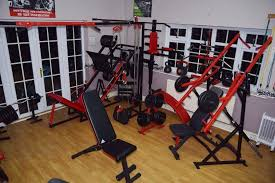home gym equipment diy leg bench press crossover hammer weight barbells etc