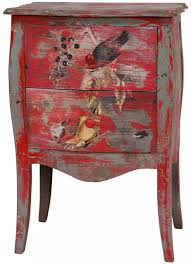 Painted Furniture Furniture Cozy Hand Painted End Table Photo House Furniture