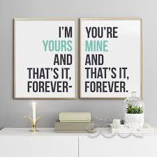 Love Quote Canvas Art Print Painting Poster Wall Pictures For Home Delectable Love Quote Canvas
