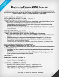 Related Nursing Resume