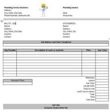 Invoice Template For Work Done 15 Best Free Plumbing Invoice Templates Images Free Stencils