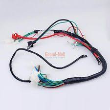 atv harness electric start atv quads wiring harness wire loom pit bike 50 110 125cc go kart