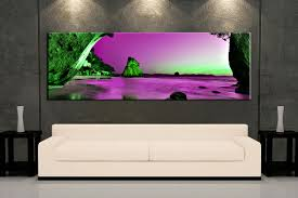 1 piece huge pictures living room multi panel canvas purple ocean canvas art prints on purple and green canvas wall art with 1 piece green mountain canvas photography purple ocean art